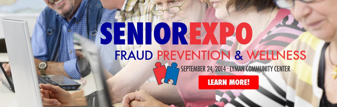 Senior Fraud Prevention and Wellness Expo 2014