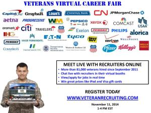 Veterans Virtual Career Fair